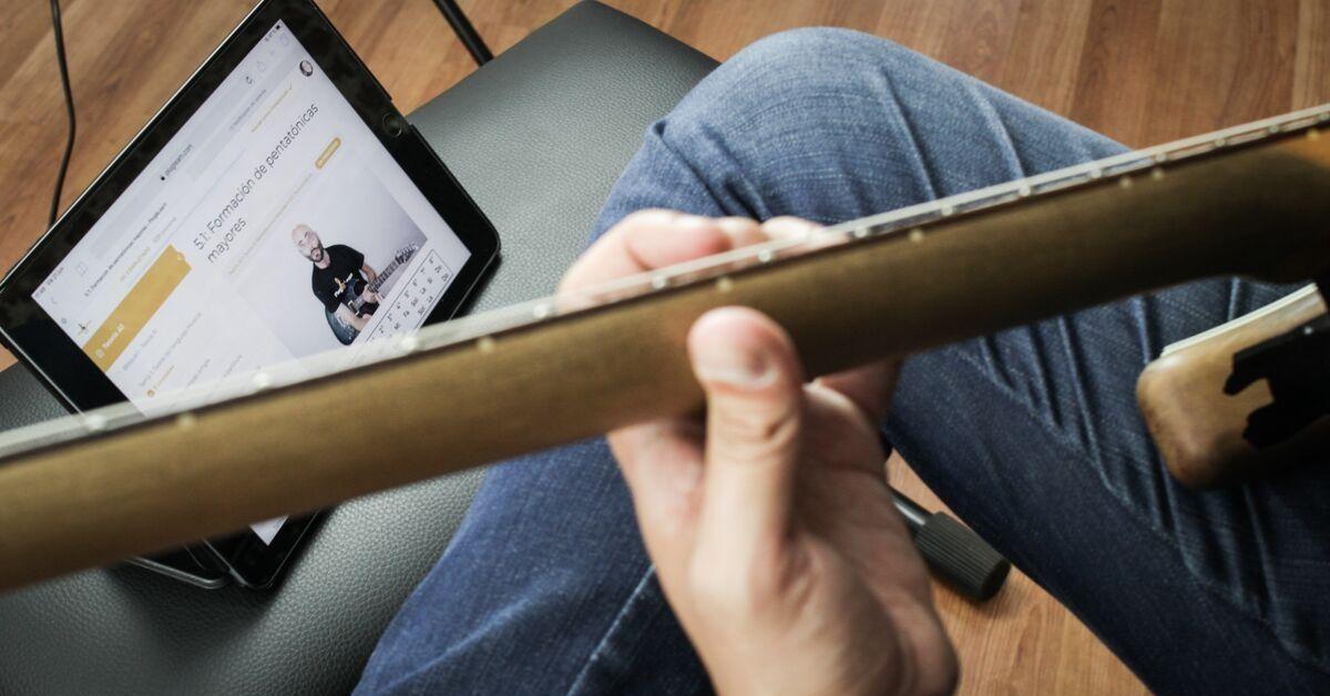 Rutina y tips de trabajo para estudiar guitarra online