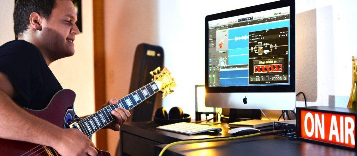Practicar guitarra en cualquier parte - apps